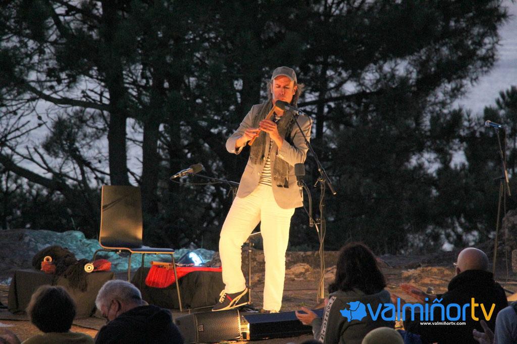 Concerto de Carlos Núñez en Monteferro