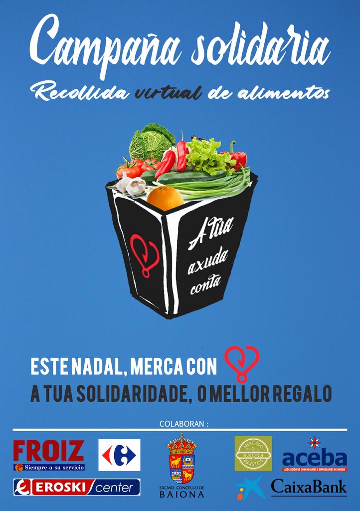 2020-11-28 – Campaña Solidaria Recogida Virtual Alimentos ONG BAIONA