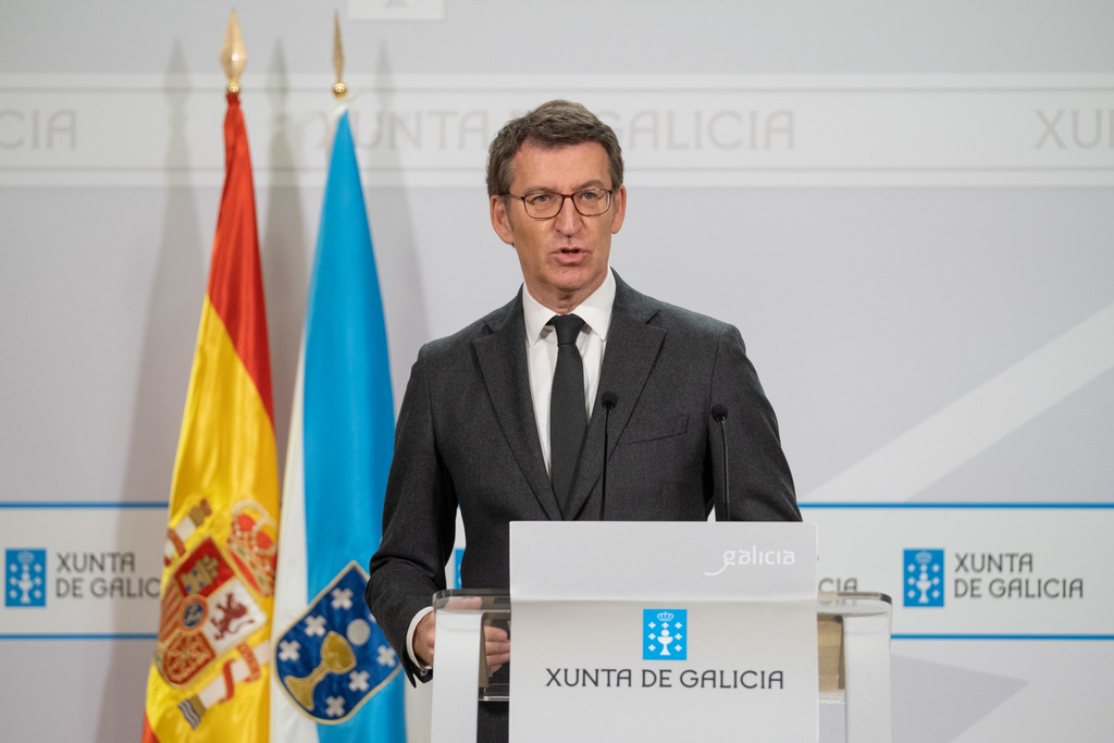 O presidente da Xunta comparece para dar conta das medidas acordadas no comité clínico
