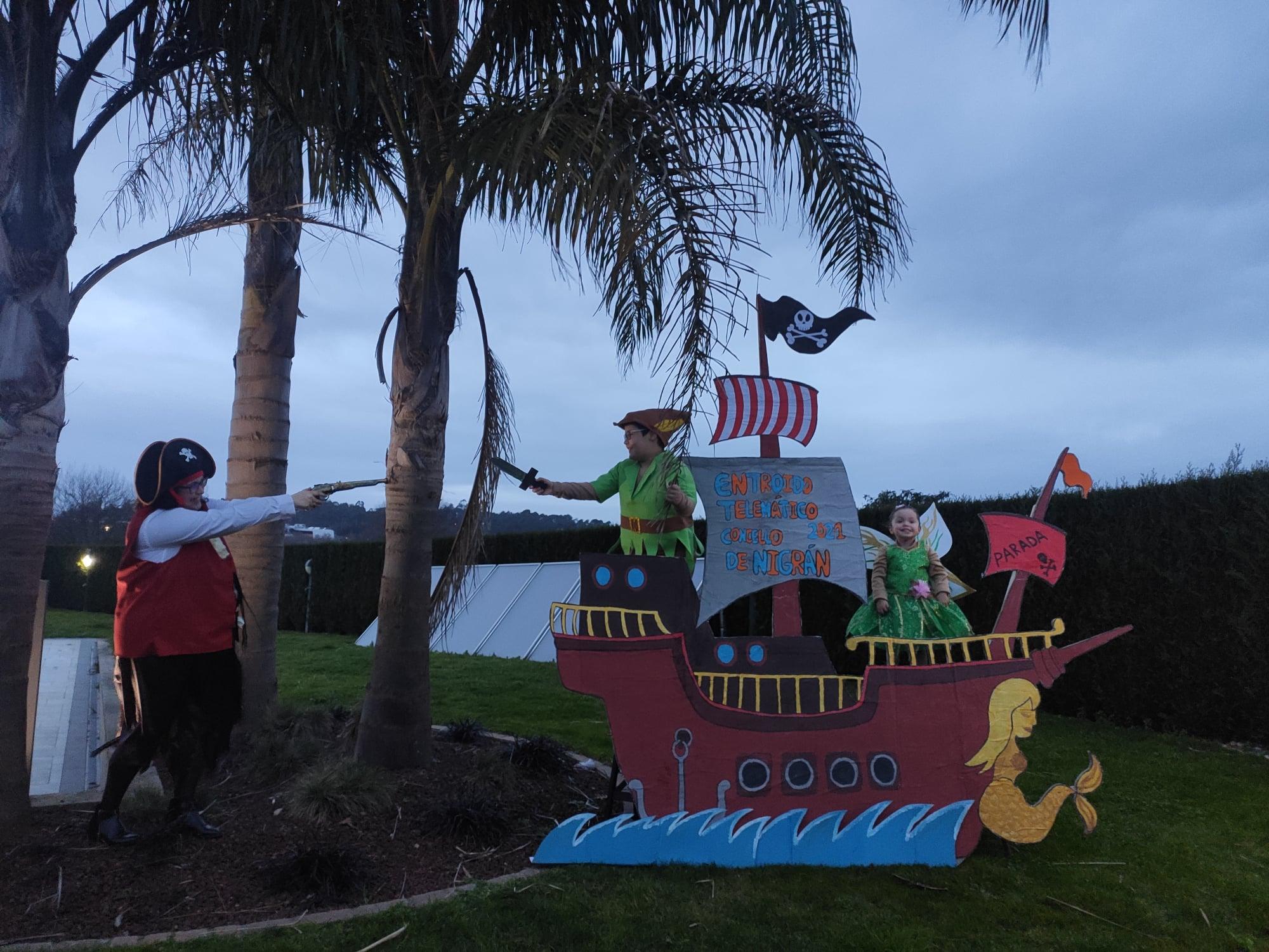 Thiago pan, letrilla y la pirata Firulais