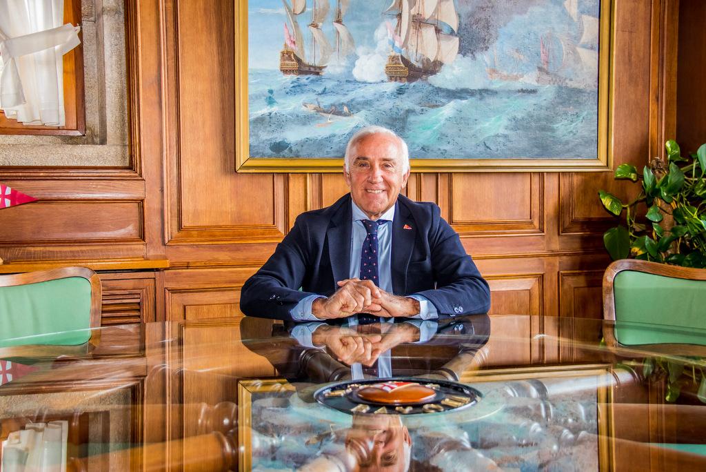 2021-03-01 – José Luis Álvarez presidente del Monte Real Club de Yates – Foto © Rosana Calvo-1