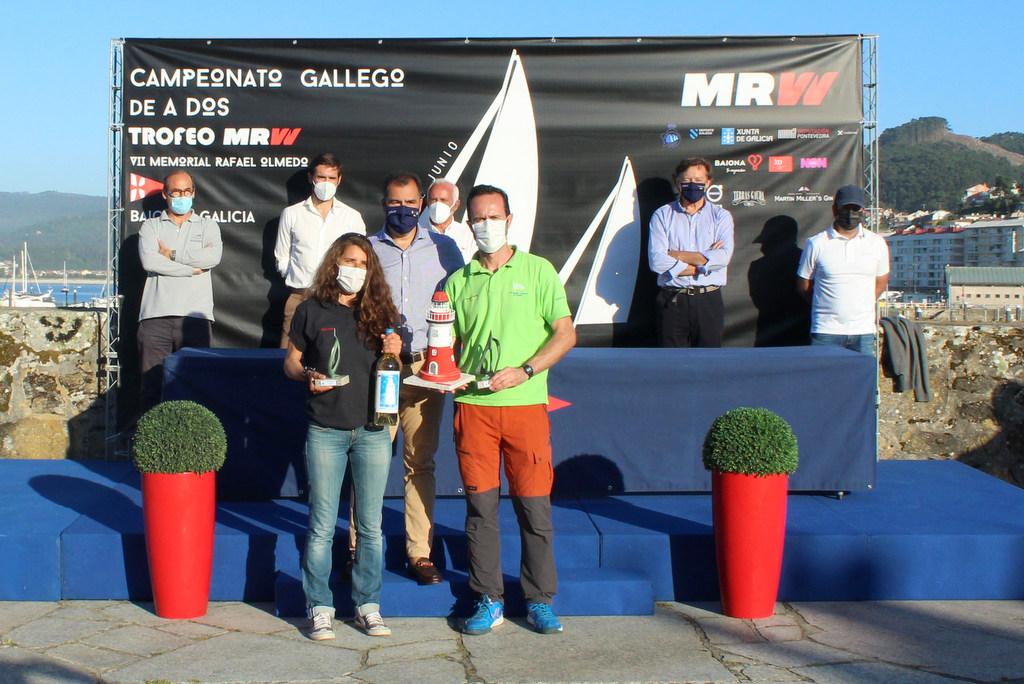 09-Victor Carrión y Ana Sardiña – Campeones Gallegos A Dos Mixtos – Foto Leticia Acero