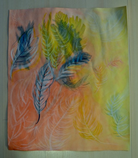 Akvarelli ja pastelli I