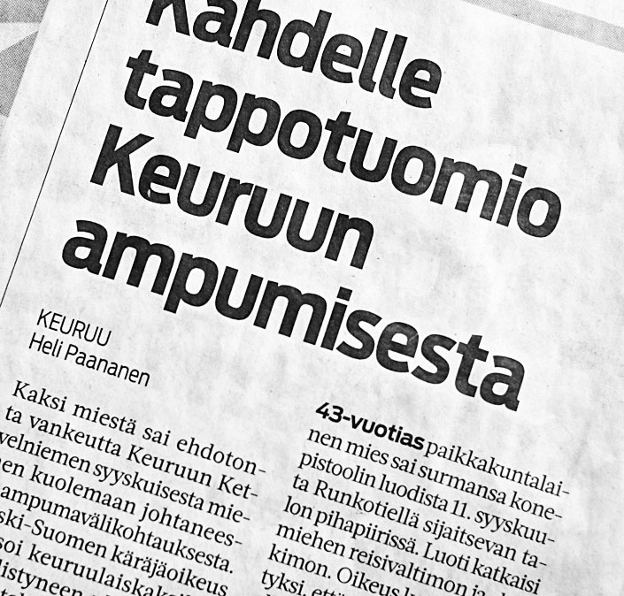 Kuolemantuomio Suomessa