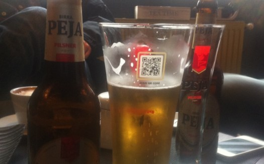 Birra Peja - QR Marketing
