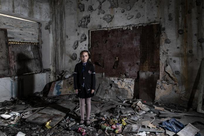 Niña. Conflicto Armado.UNICEF