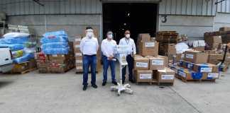 Iberdrola México dona al gobierno de Veracruz un ventilador y más de 36,500 unidades de material sanitario