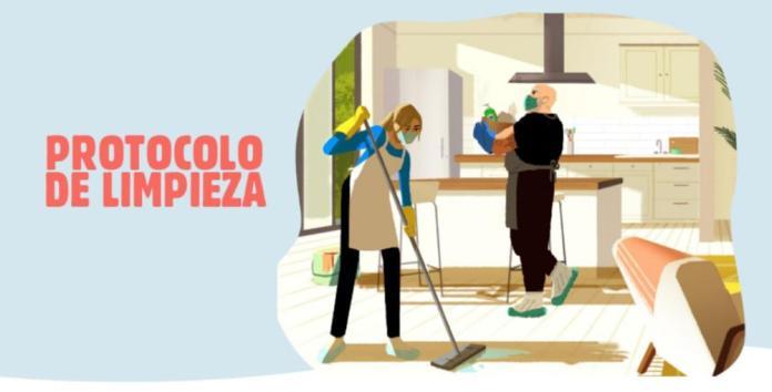 Protocolo de limpieza de Airbnb y Cloralex