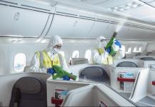 Aeroméxico alcanza más de 26 mil sanitizaciones en sus aviones