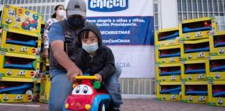 Fundación Providencia y Chicco México unidos para llevar alegría a mil niños y niñas