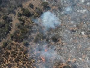 Incendio en el Iztaccíhuatl