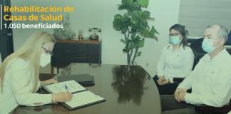 Iberdrola México equipa y rehabilita casas de salud en Tamaulipas