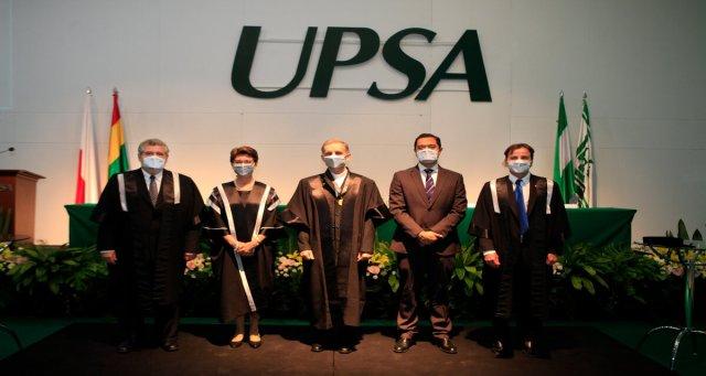 La UPSA distinguió con el grado de Profesor Honoris Causa al investigador y musicólogo padre Piotr Nawrot.