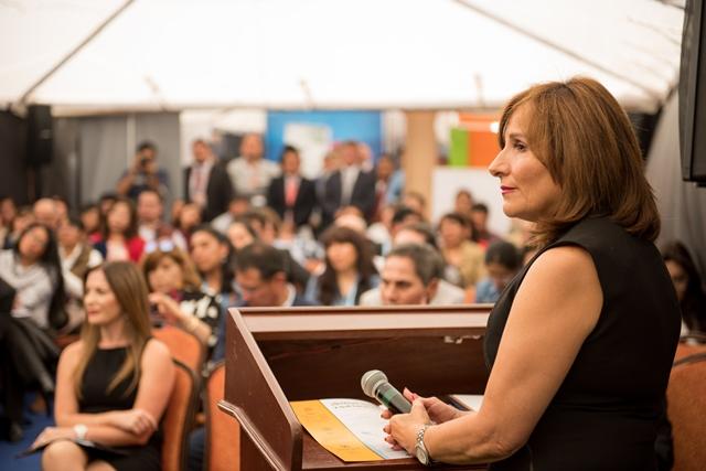 Cynthia Aramayo apunta a desarrollar nuevos corredores que le generen al exportador y al importador boliviano mejores condiciones de transporte.