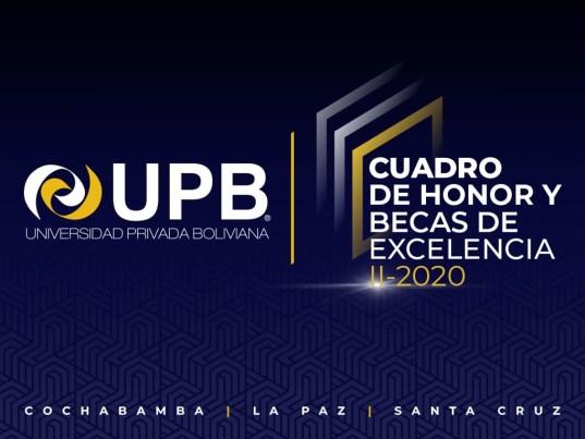 La UPB felicitó a su Cuadro de Honor en un acto virtual