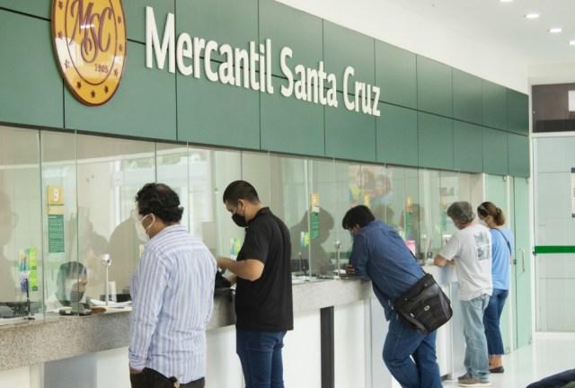 Estudio Merco reconoce nuevamente el liderazgo del Banco Mercantil Santa Cruz.