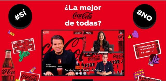 Coca-Cola Sin Azúcar, la nueva versión de Coca-Cola.