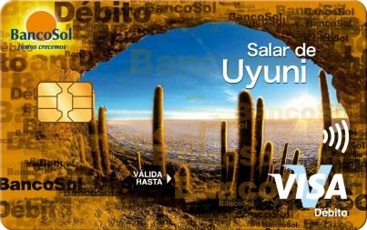 BancoSol lanza 8 modelos de tarjetas de débito que llaman a proteger la naturaleza.
