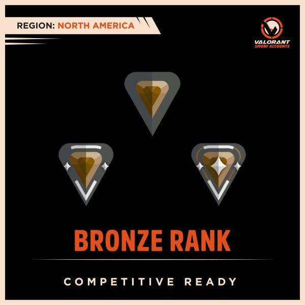 buy NA Valorant Bronze Rank Account