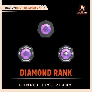NA Valorant Diamond Rank account