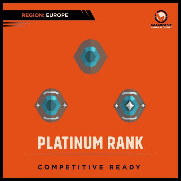 Valorant Platinum Rank Account