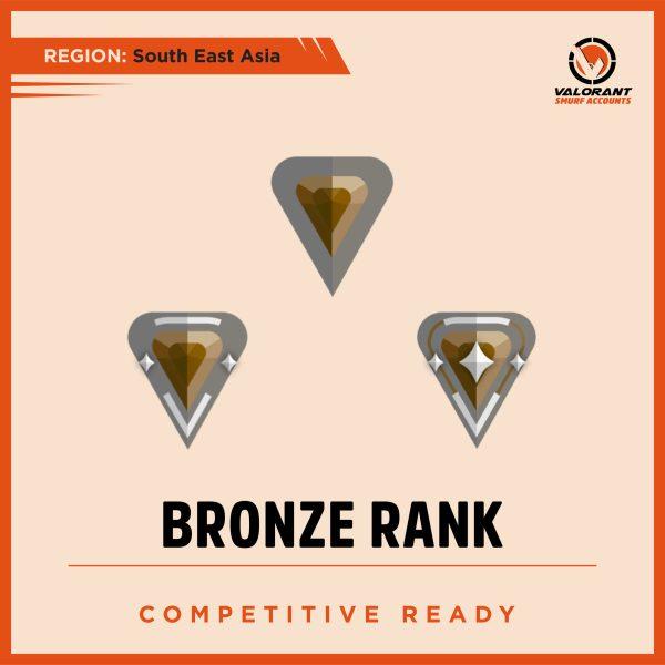 SEA Valorant Bronze Rank Account for sale