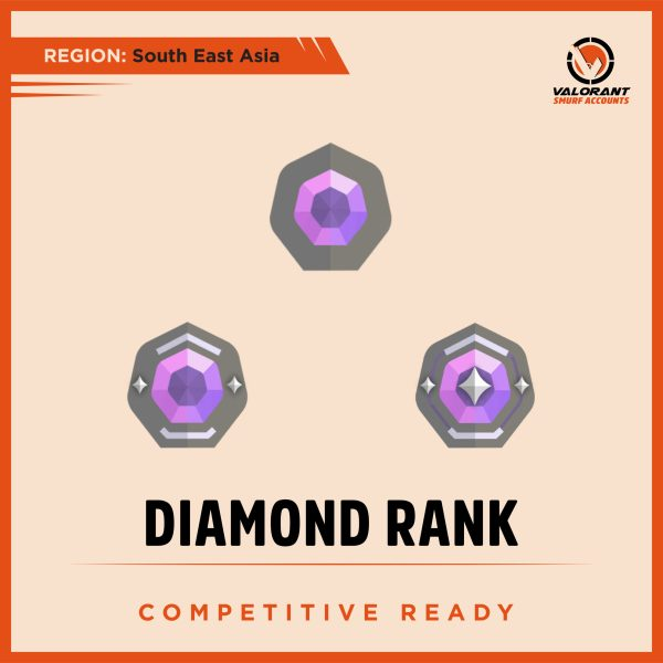 SEA Valorant Diamond rank Account for sale