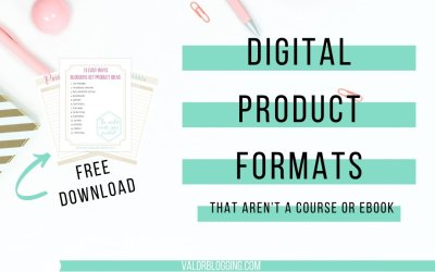 17 Digital Product Formats That Aren't A Course or eBook