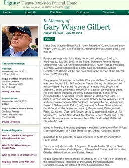 Gary Wayne Gilbert obit