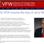 Jerry G. Riley VFW Obit