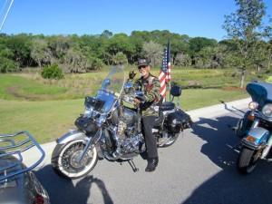 Alan Merkleine Motorcycle boy