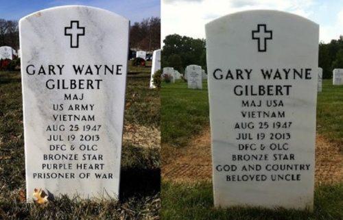Gilbert headstone (compare)
