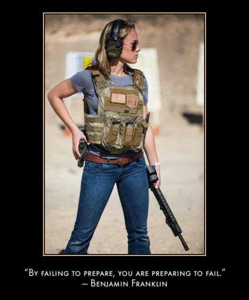 gun girl 16