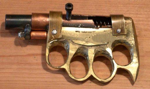 Homemade gun pr0n
