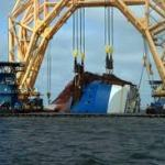 Capsized Car Carrier Starts Lift