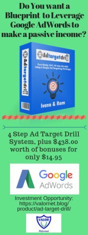 AdTarget Drill Canva ad