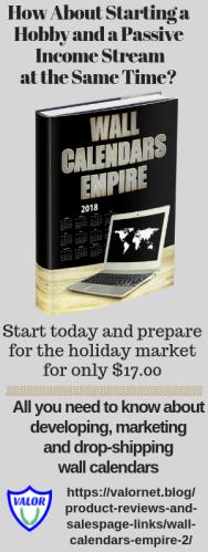 Wall Calendar Empire 2