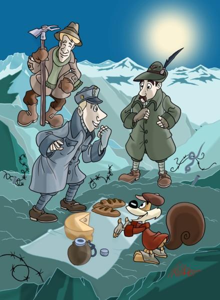 La prima guerra mondiale spiegata ai bambini