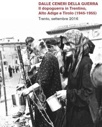 Il dopoguerra in Trentino, Alto Adige e Tirolo (1945-1955)