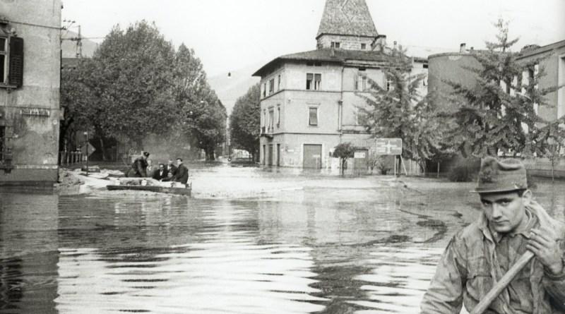 Novembre 1966, l'alluvione in Trentino