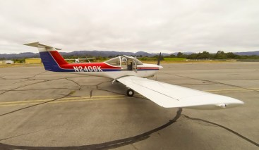 Back on the ground in Healdsburg