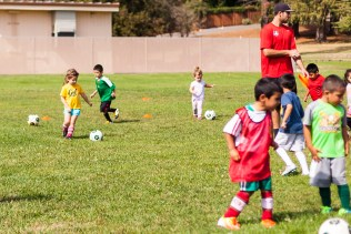 Soccer at Fitch Mountain Elementary soccer fields