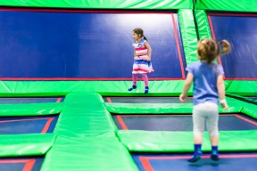 Party time at Rebounderz