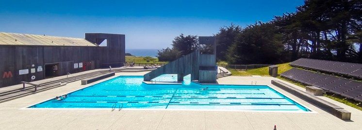 One of the many pools at Sea Ranch