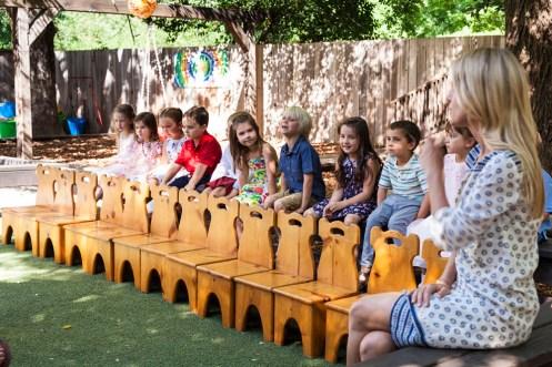 Lilia graduates from Healdsburg Montessori
