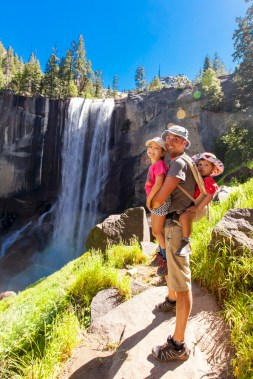 Day Two: Hiking Yosemite's Mist Trail to the top of Vernal Falls