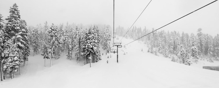 An amazing day of powder at Squaw Valley