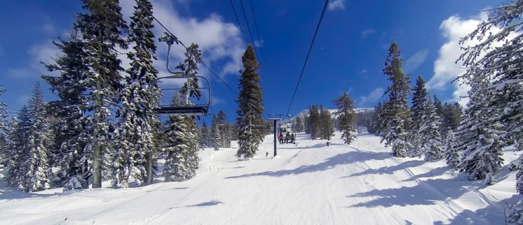 Had a fresh sprinkling overnight for some great snow today!