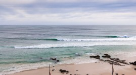Big swell at Kirra