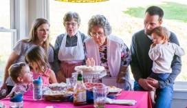 Very fun evening celebrating Gladys' 90th birthday in Alexander Valley